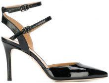 Marc Ellis - Sandali a punta - women - Leather/Patent Leather - 36, 37, 40 - Nero