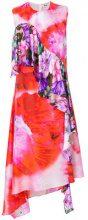 MSGM - Abito stampato - women - Silk/Polyester - 40 - MULTICOLOUR