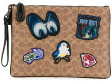 Coach - Pochette 'Coach x Disney' - women - Polyester - OS - BROWN