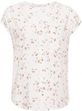 edc by Esprit 058cc1f014, Camicia Donna, Multicolore (Blue 430), X-Small