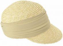 Seeberger 53271-0-Cappello da sole Donna Beige (leinen 0093) 57 cm