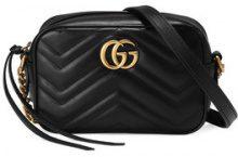 Gucci - Mini borsa GG Marmont - women - Leather/metal/Microfibre - One Size - Nero