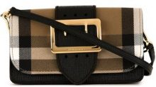 Burberry - Borsa Madison - women - Cotone/Calf Leather/Leather - OS - BROWN