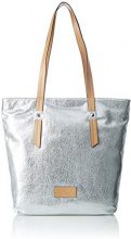 Tom Tailor Acc Kate Donna Borse Tote Argento (Silber) 10x34x40 cm (B x H x T)