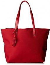 Le Tanneur Swana Uni - Borse Tote Donna, Rouge (Tricolore), 16x32x34,5 cm (W x H L)