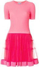 Moschino - Vestito modello T-shirt con tutu - women - Silk/Cotone/Polyamide/Cupro - 40 - PINK & PURPLE