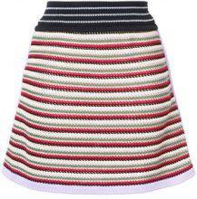 Alexa Chung - Minigonna a righe orizzontali - women - Cotone/Nylon - XS, XL - Multicolore