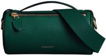 Burberry - The Leather Barrel Bag - women - Calf Leather - One Size - GREEN