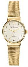 Trendy Kiss TMG10065-07 - Orologio da polso donna, metallo, colore: Oro