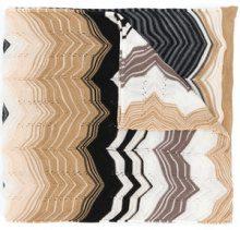 Missoni - Sciarpa con lavorazione a zigzag - women - Acrylic/Wool - OS - MULTICOLOUR