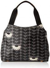 Orla Kiely Classic Zip Shoulder Bag, Borse a Tracolla Donna