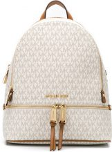 Michael Michael Kors - EZ MD BACK PACK - women - Cotton/Polyester/PVC - OS - WHITE