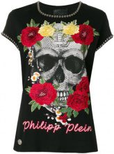 Philipp Plein - T-shirt 'Yellow Rose' - women - Cotone - S, L - Nero
