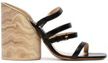 Jacquemus - Sandali '105' - women - Leather - 35, 36, 37, 38, 39 - Nero