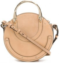 Chloé - Borsa a spalla - women - Calf Leather/Goat Skin - OS - NUDE & NEUTRALS