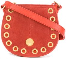 See By Chloé - small Kriss hobo bag - women - Calf Leather/Cotone - One Size - RED