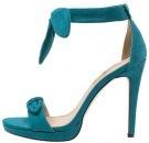 Sandali con i tacchi - turquoise
