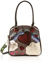 Irregular Choice Over The Rainbow Bag - Borse a mano Donna, Nero (Black), 16x30x32 cm (W x H L)