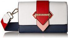 Mario Valentino VBS2L203L, Borsa a zainetto Donna, Multicolore (Mehrfarbig (Blu/Multicolor)), 9.0x12.0x19.5 cm (B x H x T)