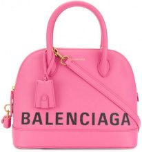 Balenciaga - Borsa Tote 'Ville' - women - Leather - OS - PINK & PURPLE