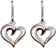 Dew FINEEARRING, argento, colore: oro rosa, cod. 68028RG