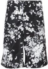 Givenchy - Shorts a fiori - men - Polyamide - 46, 50, 52, 48 - Nero