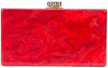 Edie Parker - Clutch 'Jean Solid' - women - Acrylic - OS - Rosso