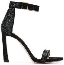 Stuart Weitzman - Nudist sandals - women - Leather/Sequin - 37, 38, 39, 40, 41 - BLACK