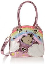 Irregular Choice Over The Rainbow Bag - Borse a mano Donna, Rosa (Pink), 16x30x32 cm (W x H L)