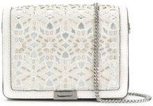 Michael Michael Kors - Borsa clutch 'Jade' - women - Leather/Polyester - OS - WHITE