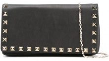 Valentino - Borsa a tracolla Rockstud - women - Leather/Metal (Other) - OS - BLACK