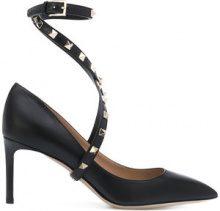 Valentino - Pumps 'Valentino Garavani Studwrap' - women - Calf Leather/Leather - 35, 36, 37, 38, 39, 40 - BLACK