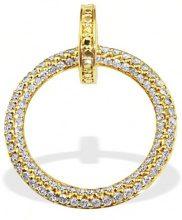 Goldmaid Collana da Donna Oro giallo Rotondo Diamante Bianco