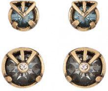 Camila Klein - two earrings set - women - metal - OS - unavailable