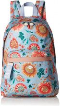 Oilily Groovy Sunflower Backpack Lvz - Borse a zainetto Donna, Blu (Light Blue), 15x40x28 cm (B x H T)