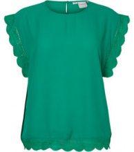 JUNAROSE Woven Sleeveless Top Women Green