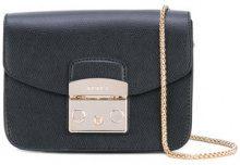 Furla - mini borsa a tracolla 'Metropolis' - women - Calf Leather - One Size - BLACK