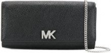 Michael Michael Kors - Clutch 'Mott' - women - Calf Leather - One Size - Nero