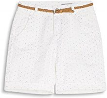 edc by Esprit 047cc1c015, Shorts Donna, Bianco (Off White), 32