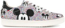 Moa Master Of Arts - Sneakers glitter 'Mickey' - women - Calf Leather/Leather/rubber - 38, 39, 40, 41 - METALLIC