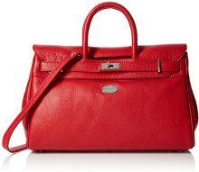 Mac Douglas Pyla Buni S - Borse a mano Donna, Rosso (Rouge Fraise), 17.5x26x40.5 cm (W x H L)