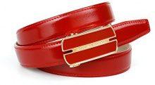 Anthoni Crown A4RM88R, Cintura Donna, Rot (Rot 060), 100 cm