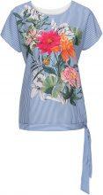 Maglia con fiori (Blu) - BODYFLIRT