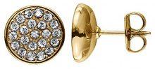 Dyrberg/Kern–Orecchini da donna parzialmente Icons Maira SG ottone con cristallo trasparente–334045Princess