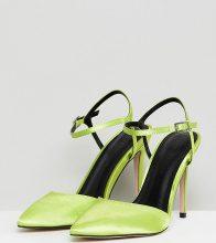 ASOS DESIGN - Pascala - Scarpe a punta con tacco - Giallo