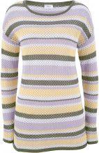 Pullover in maglia a rete (viola) - bpc bonprix collection