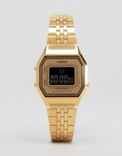Casio - LA680WEGA - Orologio piccolo digitale color oro
