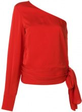 Stella McCartney - Blusa monospalla - women - Viscose - 42, 40, 38, 44 - RED