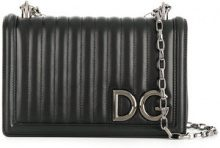 Dolce & Gabbana - Borsa a tracolla 'DG Girls' - women - Leather - One Size - BLACK