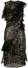 Givenchy - Abito a pois - women - Silk - 34 - Nero